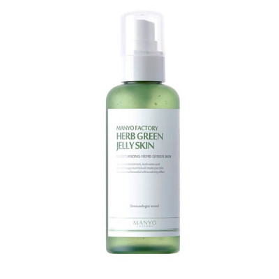 Увлажняющий Тоник «Зеленые Травы» Manyo Factory Herb Green Jelly Skin 150 мл