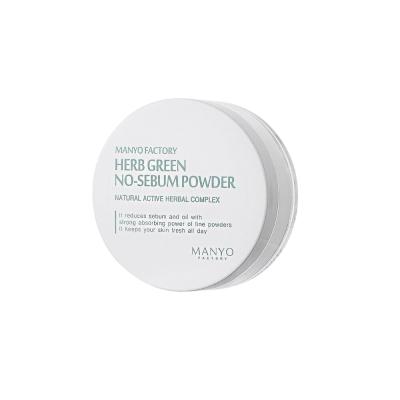 Матирующая Пудра «Зеленые Травы» Manyo Factory Herb Green NO-SEBUM Powder 6.5 г