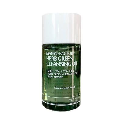 Очищающее Гидрофильное Масло с Экстрактами Трав Manyo Factory Herb Green Cleansing Oil 20 мл