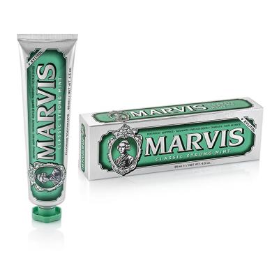 Зубная Паста с Ксилитолом Marvis «Интенсивная Мята» Classic Strong Mint + Xylitol 85 мл