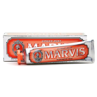 Зубная Паста Marvis «Имбирь-Мята» Ginger Mint 75 мл