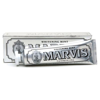 Отбеливающая Зубная Паста Marvis «Мята» Whitening Mint 75 мл