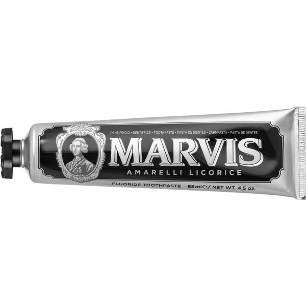 Зубная Паста с Ксилитолом Marvis «Лакрица-Мята» Amarelli Licorice + Xylitol 85 мл