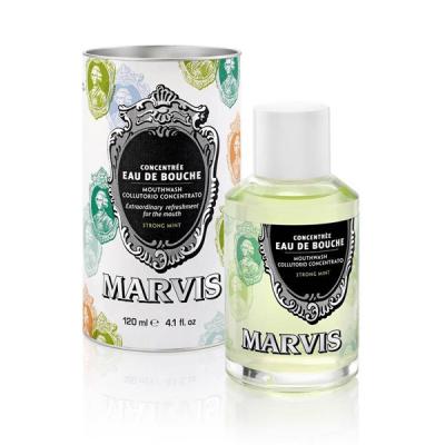 Ополаскиватель для Полости Рта «Интенсивная Мята» Marvis Mouthwash Strong Mint 120 мл