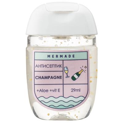 """Антисептик для Рук """"Шампанское"""" Mermade Champagne 29 мл"""