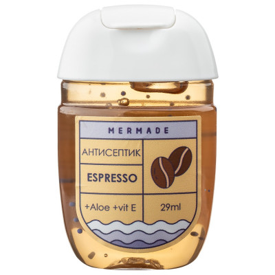 "Антисептик для Рук ""Кофе"" Mermade Espresso 29 мл"