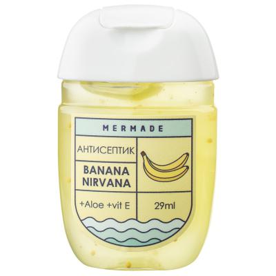 """Антисептик для Рук """"Банан"""" Mermade Banana Nirvana 29 мл"""
