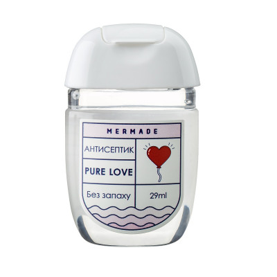 "Антисептик для Рук ""Без Запаха"" Mermade Pure Love 29 мл"