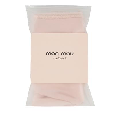 Двухстороннее Полотенце-Тюрбан для Деликатной Сушки Волос (Нюдовое) Mon Mou Hair Turban Nude
