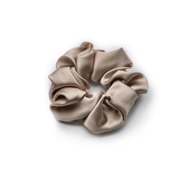Шелковая Резинка для Волос Бежевая Mon Mou