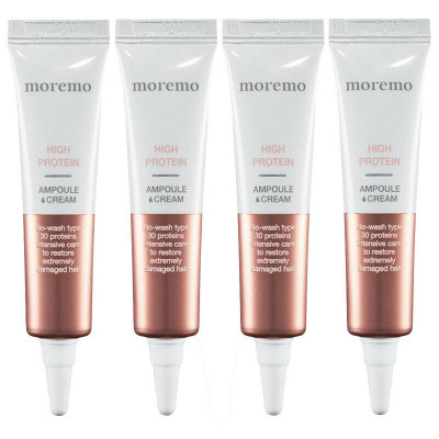 Протеиновые Крем-Ампулы для Волос Moremo High Protein Ampule Cream 4x15 мл