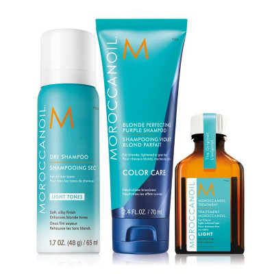 Мини-Набор для Волос Moroccanoil Better Your Blonde Set