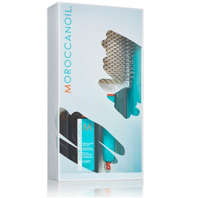 Набор для Укладки и Стайлинга Moroccanoil Light Limited Kit