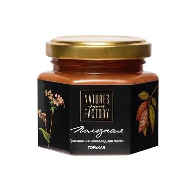 Гречишная Горькая Шоколадная Паста Nature's Own Factory 120 г