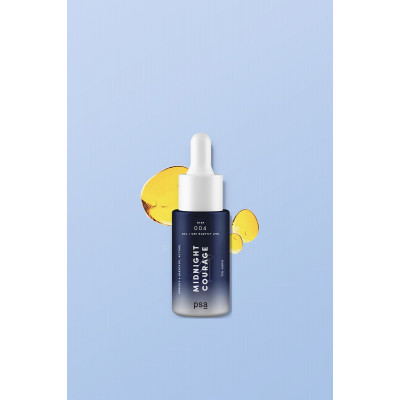 Ночное Масло с Ретинолом PSA Midnight Courage Rosehip & Bakuchiol Retinol Night Oil 15 мл