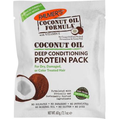 """Восстанавливающий Кондиционер для Волос """"Масло Кокоса"""" Palmers Coconut Oil Formula Deep Conditioning Protein Pack 60 г"""