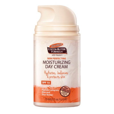 Увлажняющий Дневной Крем Масло Какао SPF 15 Palmer's Cocoa Butter Formula Skin Perfecting Moisturizing Day Cream 75 мл