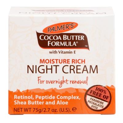 Питательный Ночной Крем Масло Какао Palmer's Cocoa Butter Formula Moisture Rich Night Cream 75 мл