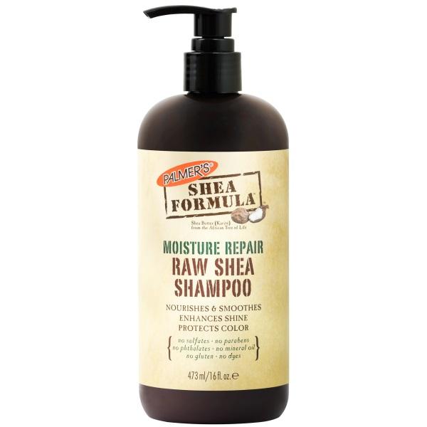 Увлажняющий Восстанавливающий Шампунь для Вьющихся Волос Масло Ши Palmer's She Formula Moisture Repair Raw Shea Shampoo 473 мл