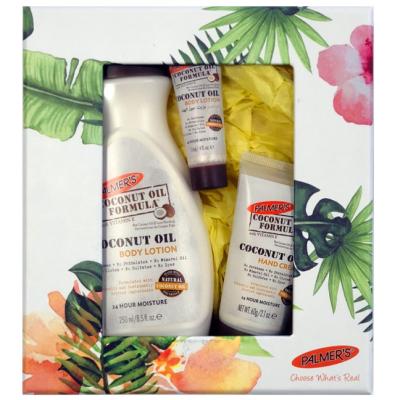 Набор Масло Кокоса, Лосьон для Тела + Крем для Рук Palmer's Coconut Oil Formula Body Lotion & Body Cream 250+60 мл