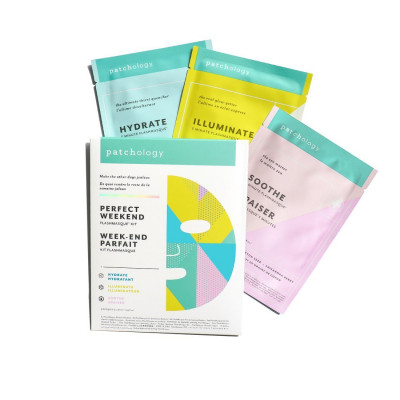 Набор Масок для Лица Patchology FlashMasque Sheet Mask Perfect Weekend Trio