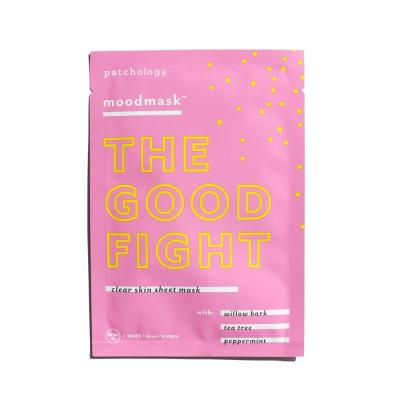 Антибактериальная Успокаивающая Маска Patchology Moodmask The Good Fight Sheet Mask 1 шт