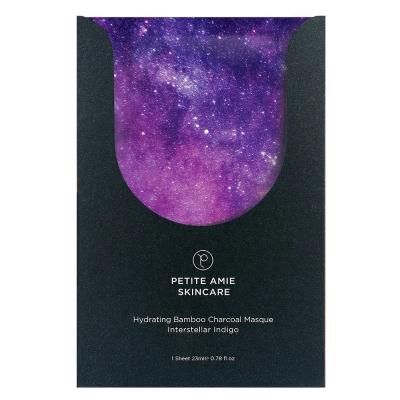 Увлажняющая Угольная Маска для Лица Petite Amie Hydrating Bamboo Charcoal Masque Interstellar Indigo