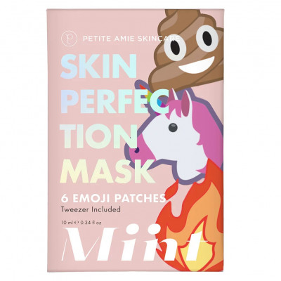 Маска-Патчи для Лица Petite Amie Skin Perfection Mask Emoji Patches 6 шт