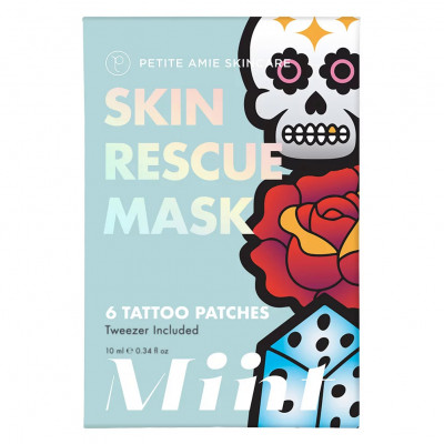 Маска-Патчи для Лица Petite Amie Skin Rescue Mask Tattoo Patches 6 шт