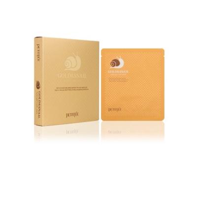 Гидрогелевая Маска для Лица с Золотом и Улиткой PETITFEE Gold & Snail Hydrogel Mask 30 г