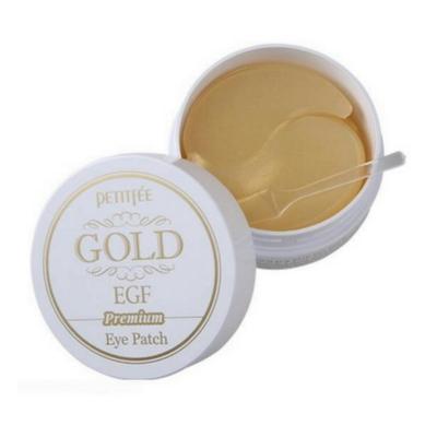 Гидрогелевые Патчи для Глаз с Золотом и EGF Petitfee Premium Gold & EGF Eye Patch 60 шт