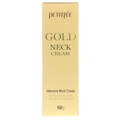 Крем для Шеи и Декольте с Золотом Petitfee Gold Neck Cream 50 г