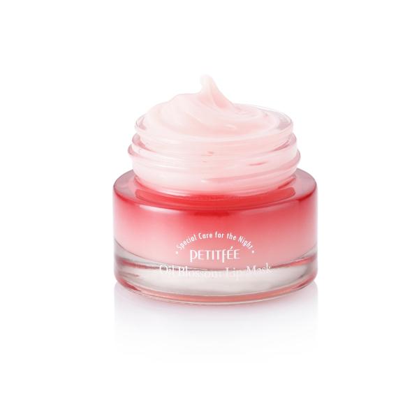 Ночная Маска для Губ с Маслом Камелии и Витамином Е Petitfee Oil Blossom Lip Mask 15 г