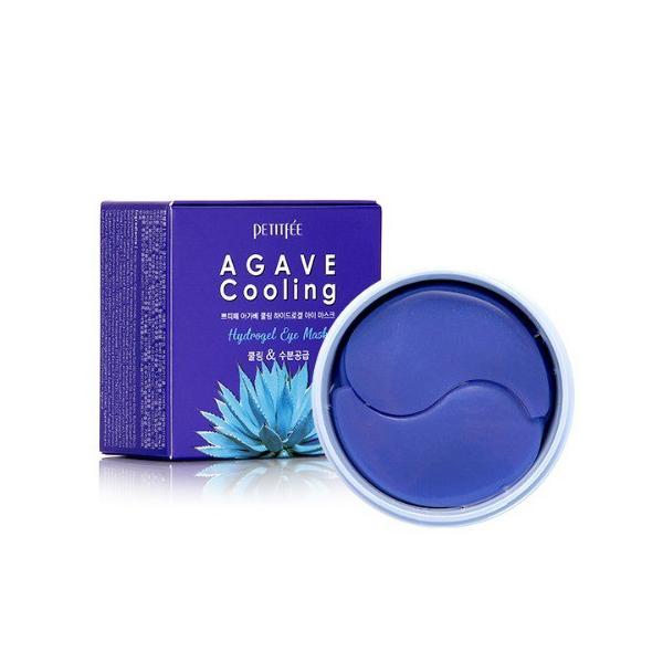 Гидрогелевые Охлаждающие Патчи для Глаз с Экстрактом Агавы PETITFEE Agave Cooling Hydrogel Eye Mask 60 шт