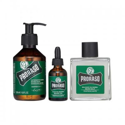 Винтажный Набор Освежающего Ухода за Бородой Proraso Refreshing Gift Set