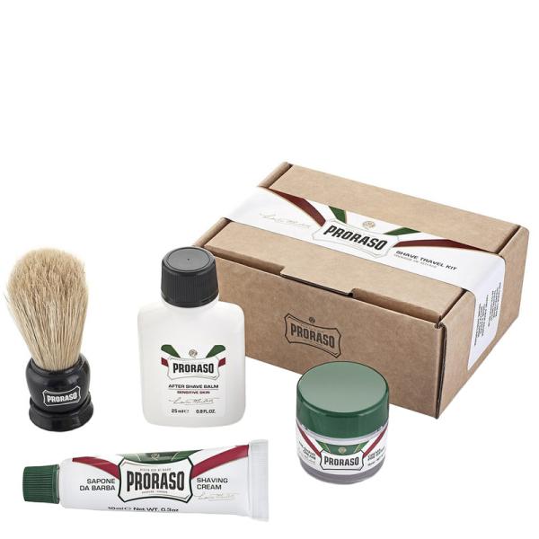 Дорожный Набор для Бритья Proraso Shave Travel Kit Refresh