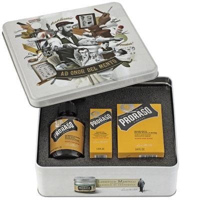 Подарочный Набор по Уходу за Бородой Proraso Beard Kit Wood and Spice