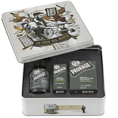 Подарочный Набор по Уходу за Бородой Proraso Beard kit Cypress & Vetyver