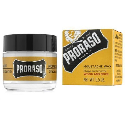 Воск для Усов Proraso Moustache Wax Wood & Spice 15 г