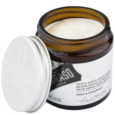 Паста-Скраб для Бороды и Лица Proraso Beard Exfoliating Paste Mint & Rosemary 100 мл