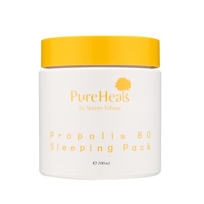 Ночная Увлажняющая Маска для Лица с Экстрактом Прополиса 80 Pureheal's Propolis 80 Sleeping Mask 100 мл