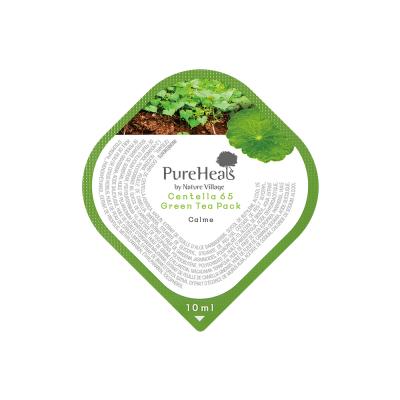 Восстанавливающая Маска в Капсулах с Экстрактом Центеллы 65 и Зеленым Чаем Pureheal's Centella 65 Green Tea Capsule Pack (Capsule) 10 мл