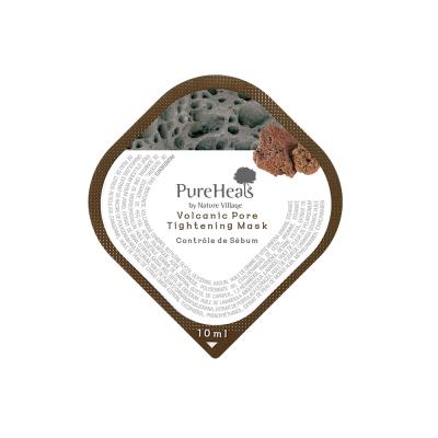 Маска с Вулканическим Пеплом в Капсулах для Очистки и Сужения Пор Pureheal's Volcanic Pore Tightening Mask (Capsule) 10 мл