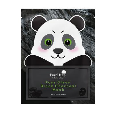 Тканевая Маска с Чёрным Углём для Очищения Пор от Загрязнения Pureheal's Pore Clear Black Charcoal Mask 1x25 мл