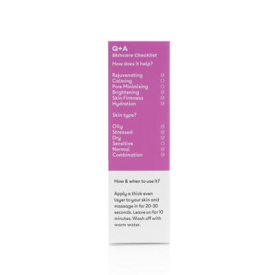 Мультивитаминная Маска для Лица Q+A Vitamin A.C.E. Warming Gel Mask 75 мл
