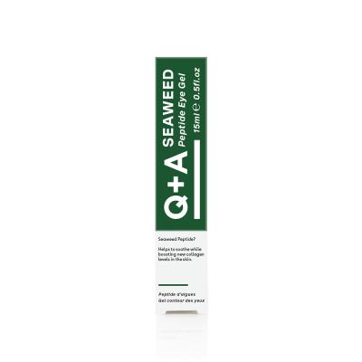 Гель для Зоны Вокруг Глаз Q+A Seaweed Peptide Eye Gel 15 мл