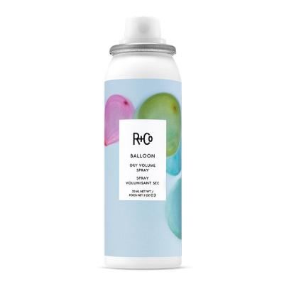 "Сухой-Текстурирующий Спрей для Объёма ""Балон"" R+Co BALLOON Dry Volume Spray Travel 70 мл"
