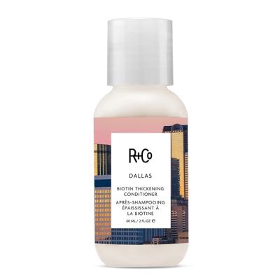 """Кондиционер для Объёма """"Даллас"""" R+Co Dallas Biotin Thickening Conditioner Travel 60 мл"""
