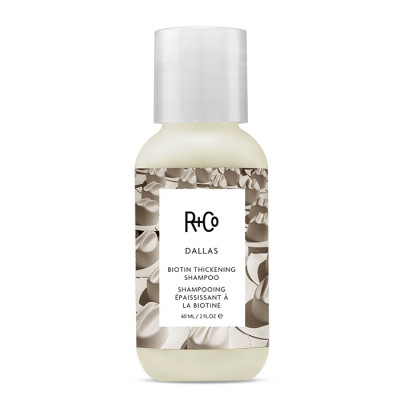 "Шампунь для Объёма ""Даллас"" R+Co Dallas Biotin Thickening Shampoo Travel 60 мл"