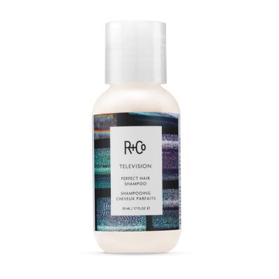 "Шампунь для Совершенства Волос ""Прямой Эфир"" R+Co Television Perfect Hair Shampoo Travel 50 мл"